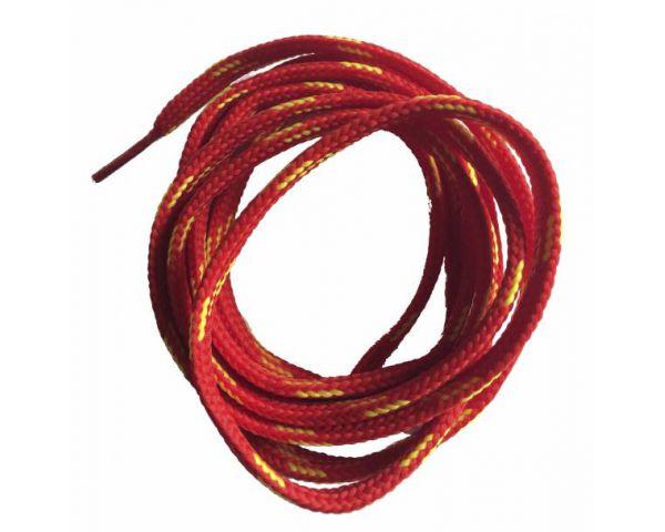 Cordón plano Rojo-amarillo