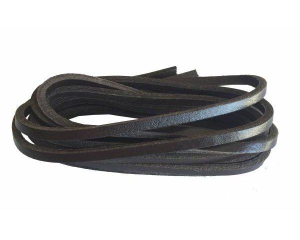 Cordón náutico cuero marrón