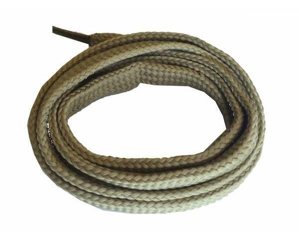 Cordón plano ancho skate beige