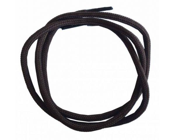 Cordón redondo normal marrón