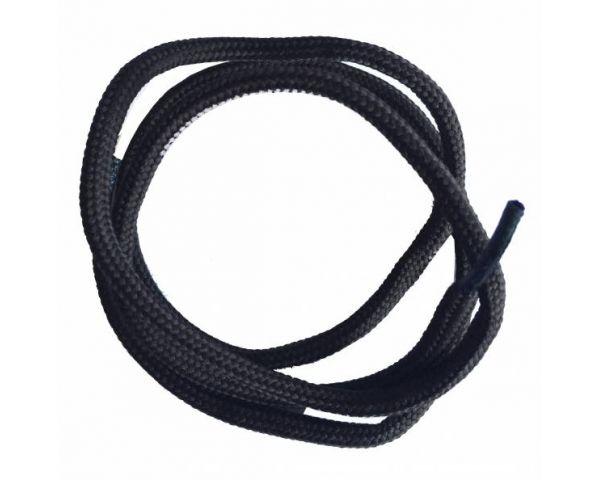 Cordón redondo normal marrón oscuro