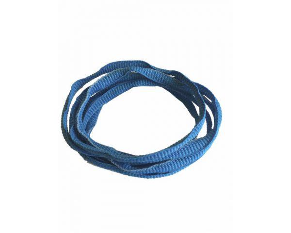 Cordón trainer azul fluor