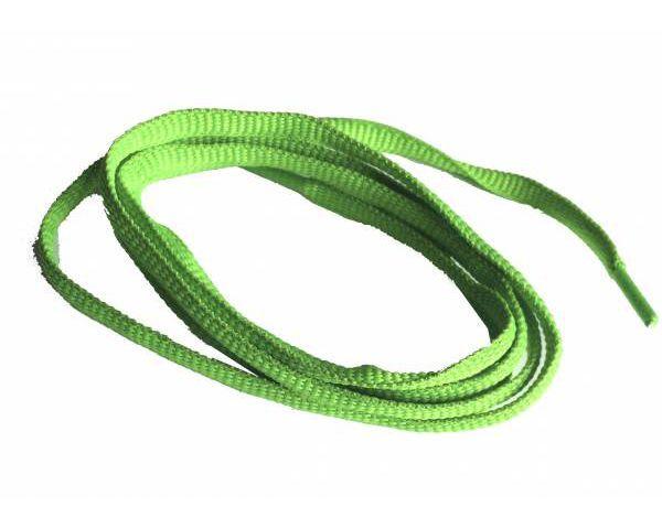 Cordón trainer verde fluor