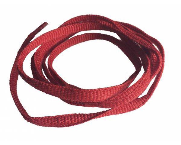 Cordón trainer rojo