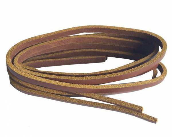 Cordón náutico cuero teja