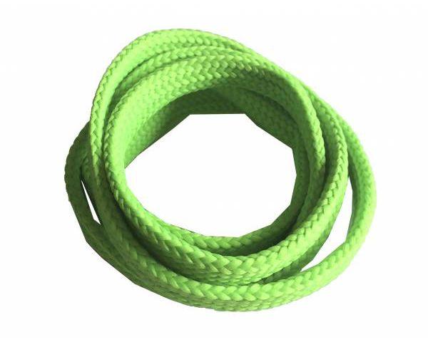Cordón plano ancho skate verde fluorescente