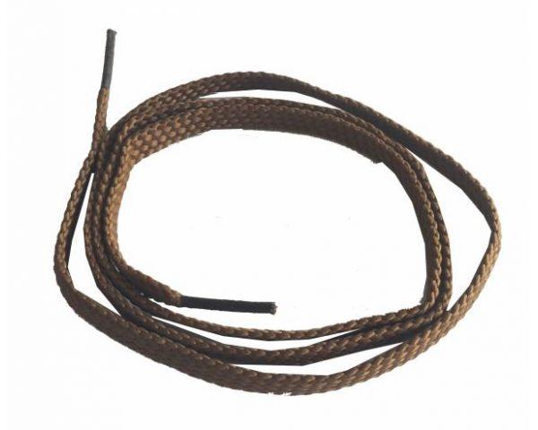 Cordón plano fino camel