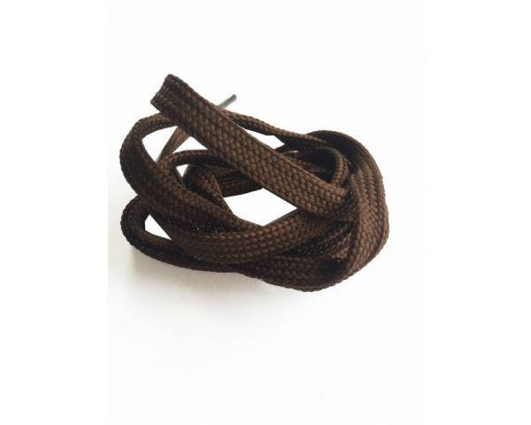 Cordón plano marrón