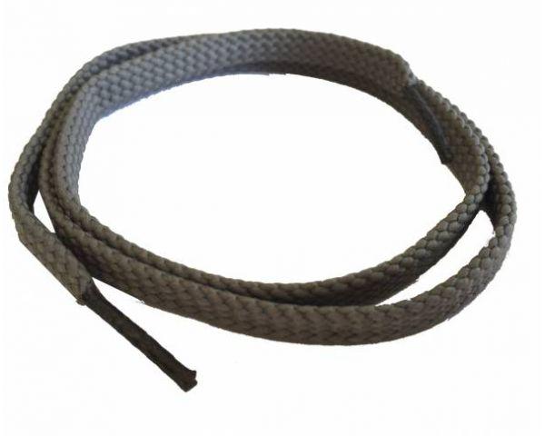 Cordón plano fino gris