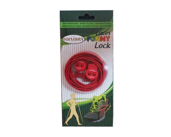 Cordones elásticos rojos