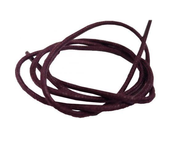 Cordón encerado redondo fino Burdeos