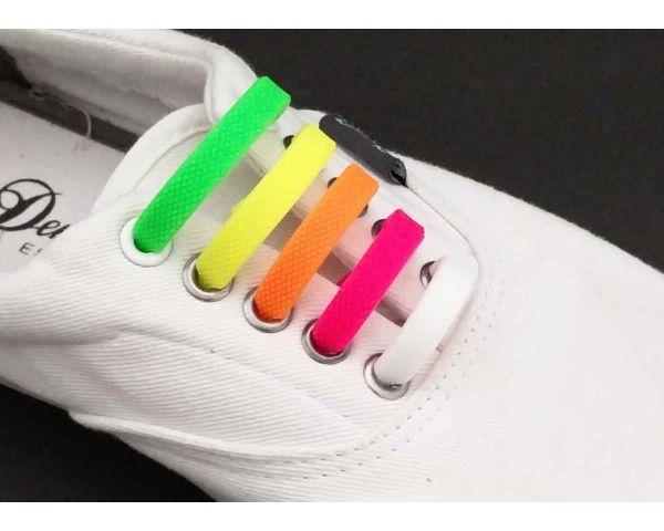 Cordones de silicona de multicolores
